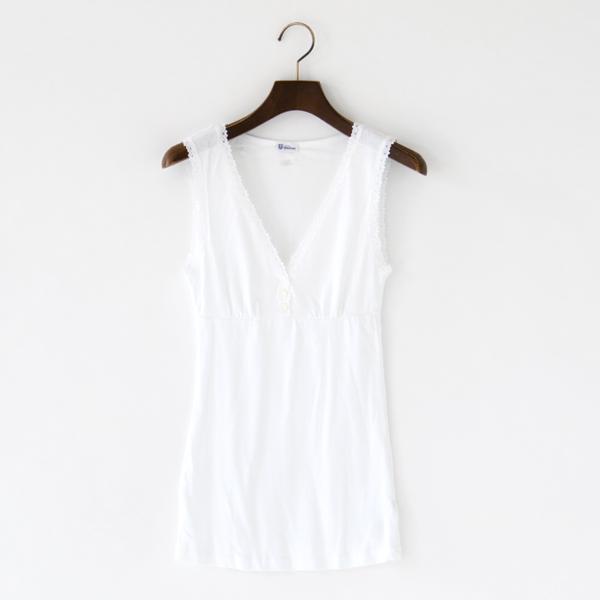 レディース キャミソール AGATHE(white)