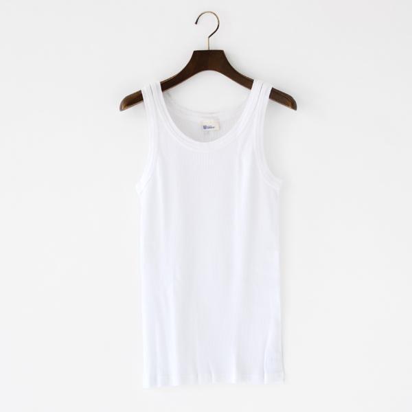 メンズ タンクトップ FRIEDRICH(white)