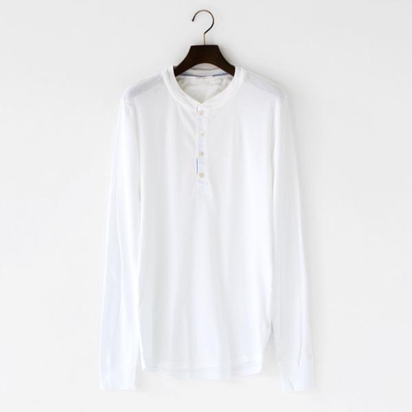 メンズ ロングスリーブ KARL-HEINZ white