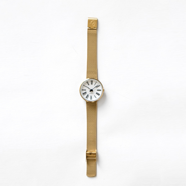 ARNE JACOBSEN Watch ROMAN(YELLOW GOLD)