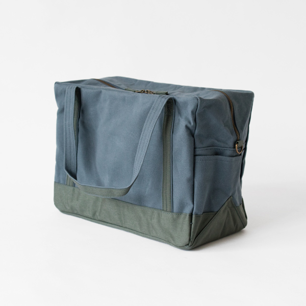 dailly boston bag gray