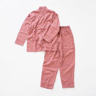 Gauze Pajamas Natural dye Coral Pink