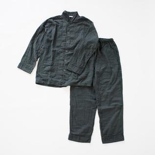 Gauze Pajamas Natural dye InkBlack