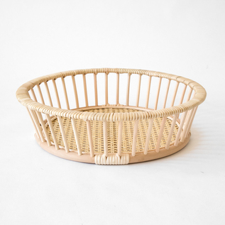 HAIRU RATTAN  BASKET