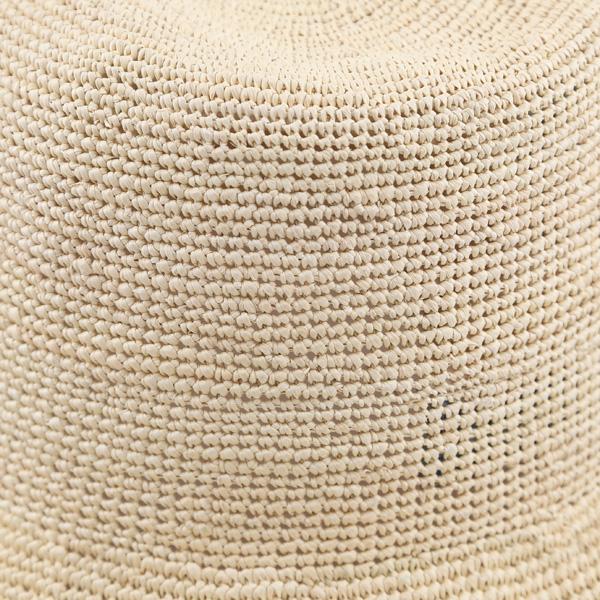 トキア草が細やかに編み込まれています