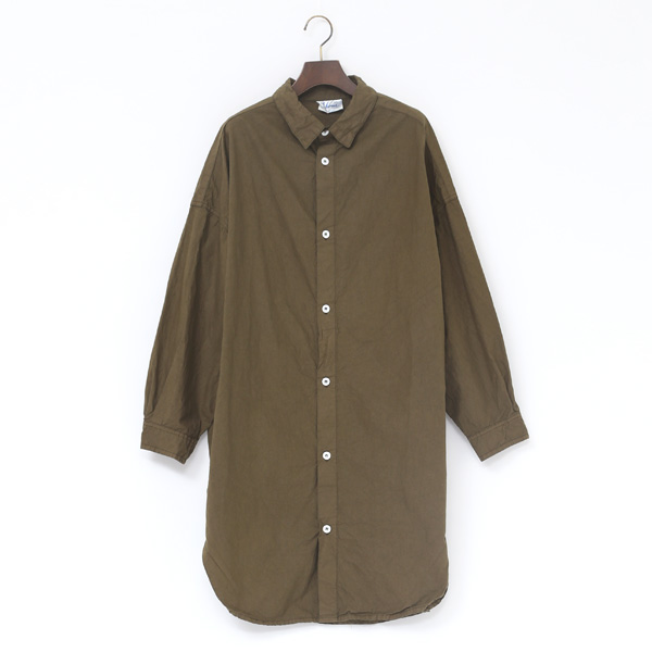 オーバーサイズシャツ(KHAKI)