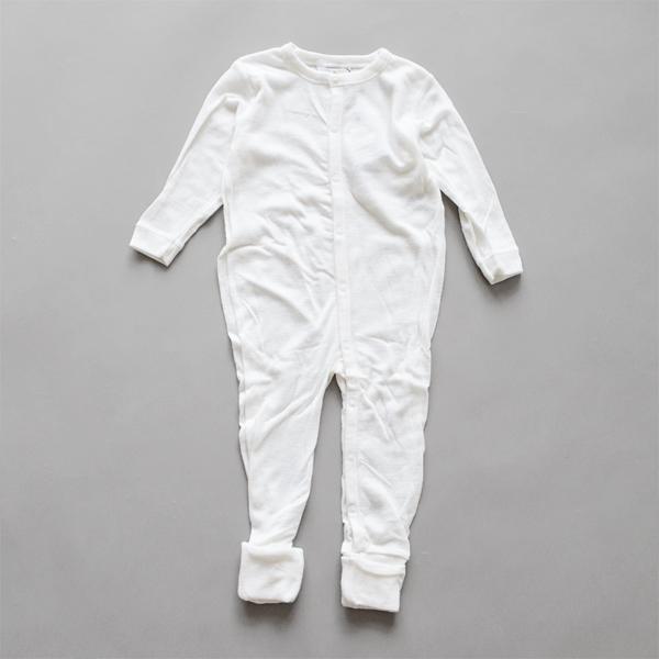 ベビーナイトスーツ 80cm(ホワイト)