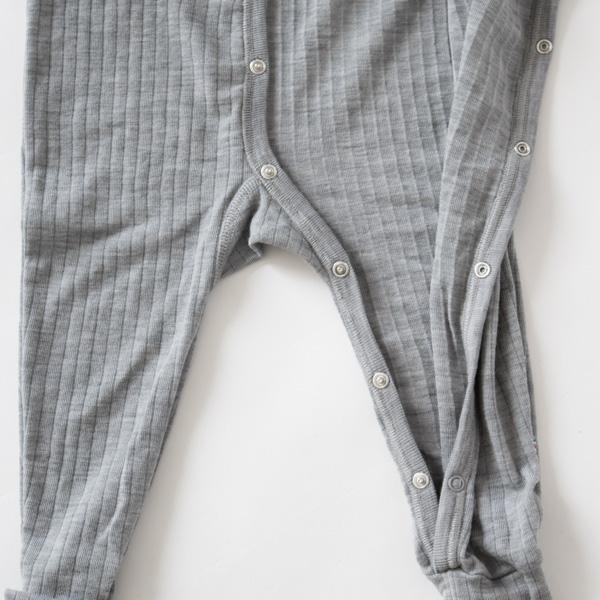 ベビーナイトスーツ 80cm(グレー)