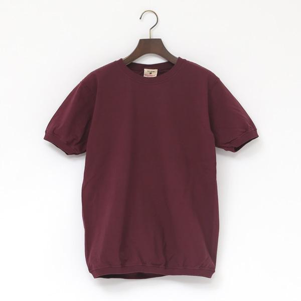 クルーネック ショートスリーブ Tシャツ(PLUM)