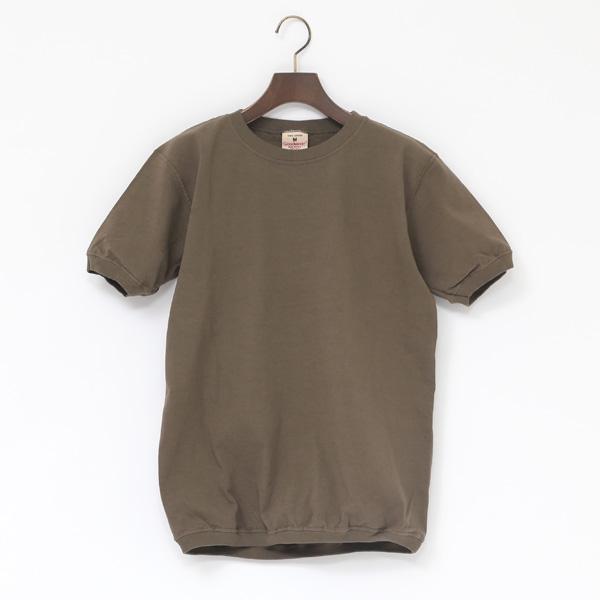 クルーネック ショートスリーブ Tシャツ(DK.KHAKI)