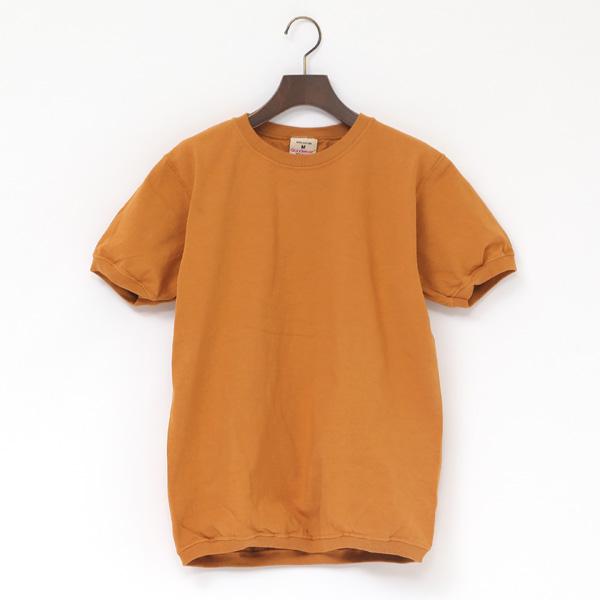 クルーネック ショートスリーブ Tシャツ(MUSARD)