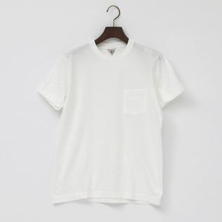 ユニセックス SUNNY クルーネックTシャツ WHITE