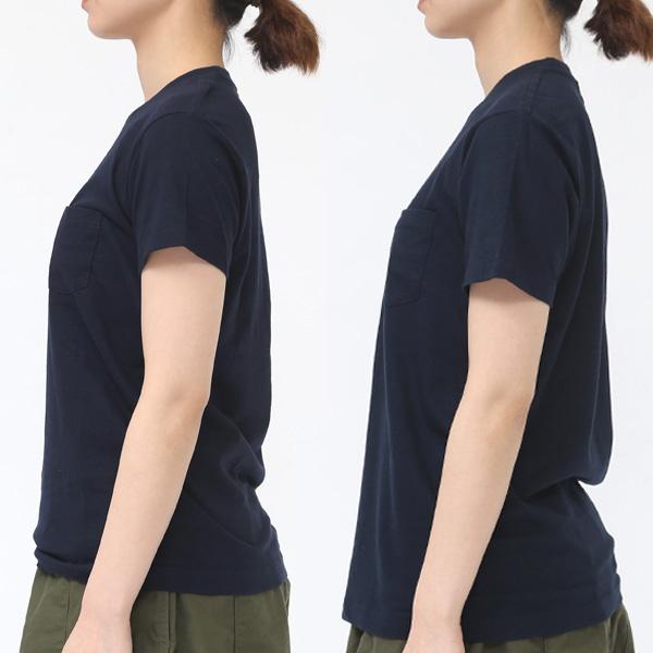 着用サイズ:2(左)・3(右) モデル身長:163cm(DEEP NAVY着用)