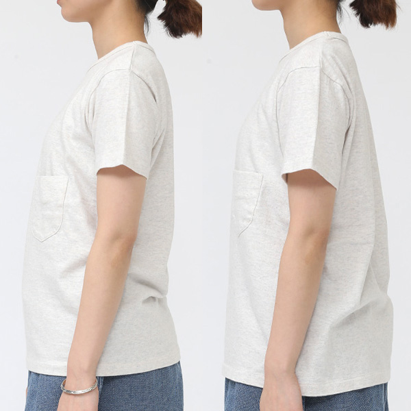 着用サイズ:2(左)・3(右) モデル身長:163cm