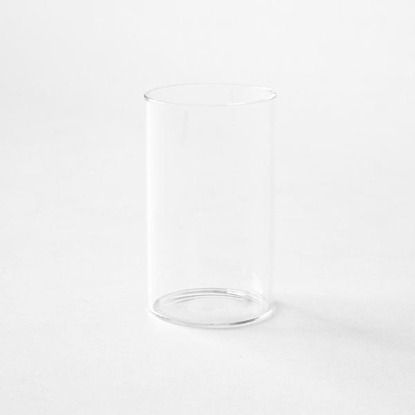 中の筒はガラス製です