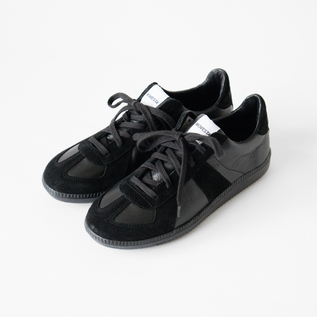 スニーカー GERMAN ARMY TRAINER ALL BLACK