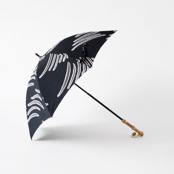 レディース晴雨兼用長傘 夏の風(NAVY)