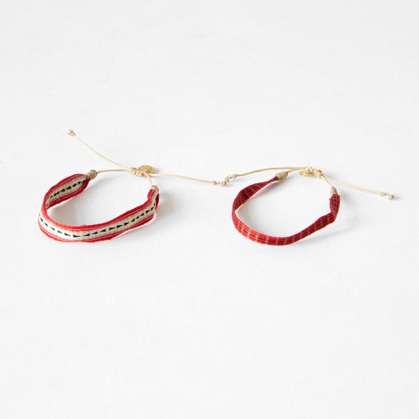 wayu artisan ブレスレット(RED)