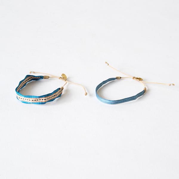 wayu artisan ブレスレット(BLUE)