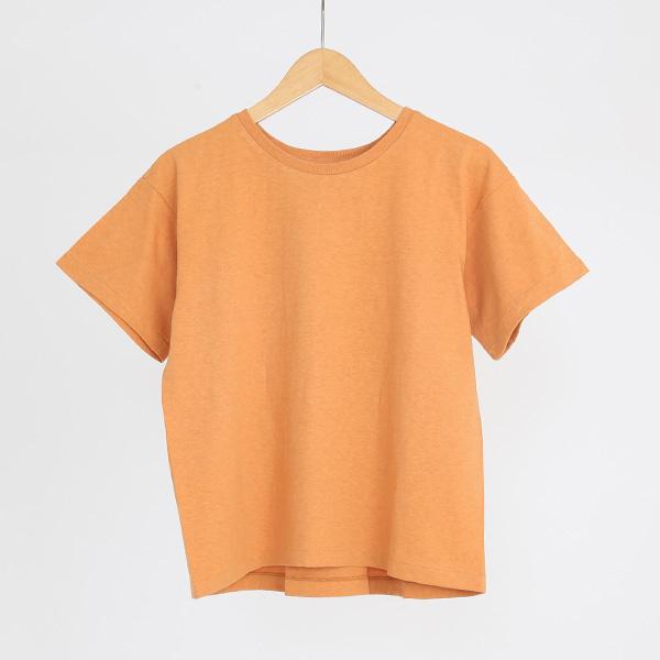 ERIN ボックスタックTシャツ(BITTER ORANGE)