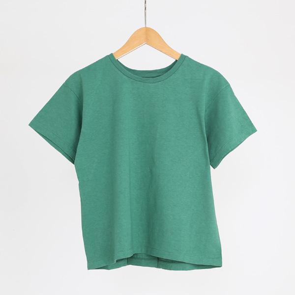 ERIN ボックスタックTシャツ(PISTACHIO)