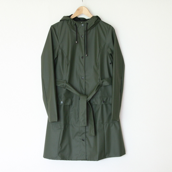 Curve Jacket Green