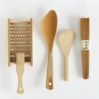 竹の道具4種セット