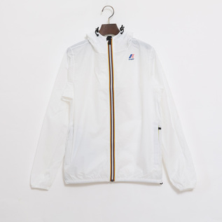 UNISEX Packable Windbreaker White