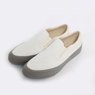 スリッポン L010 WHITE/GRAY
