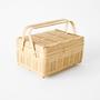 Kagoshima Prefecture Shiratake bento basket with one step