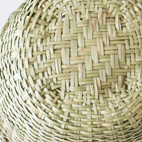 通気性、抗菌性にも優れている竹素材のかご