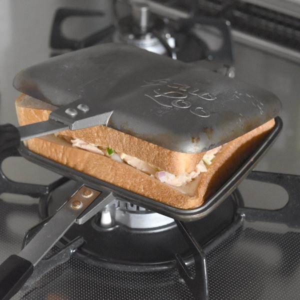 美味しいホットサンドを簡単に作ることが出来ます