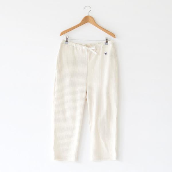 七分丈パジャマパンツ(LBEIGE)