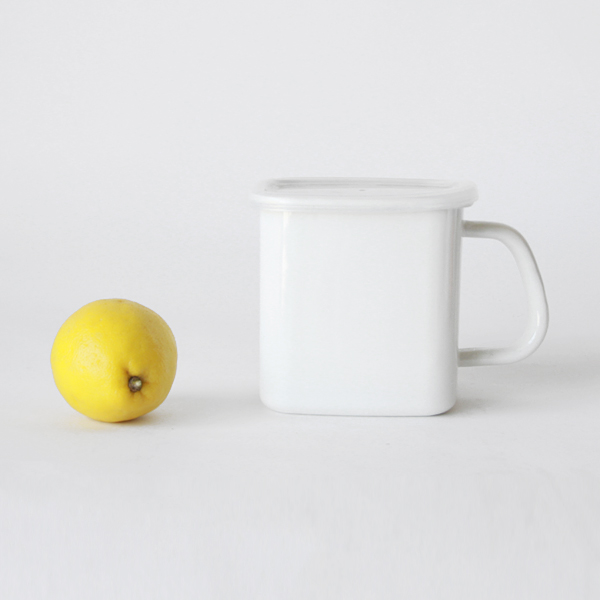 持ち手つきストッカー角型とレモン