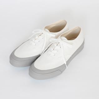 デッキシューズ L011 WHITE/GRAY