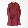 Curve Jacket Bordeaux(レインコート)