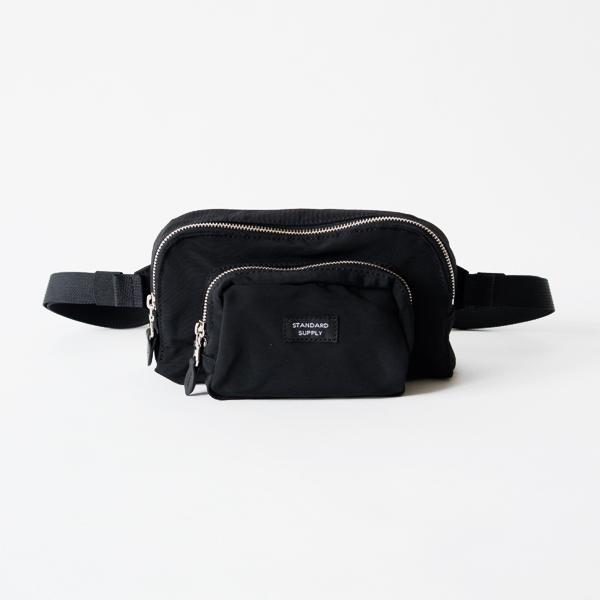 WAIST BAG(BLACK)