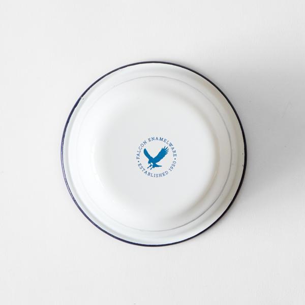 底面(Original White with Blue rim)