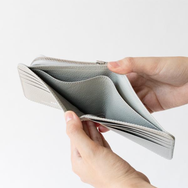 紙幣スペースは2つに分かれています