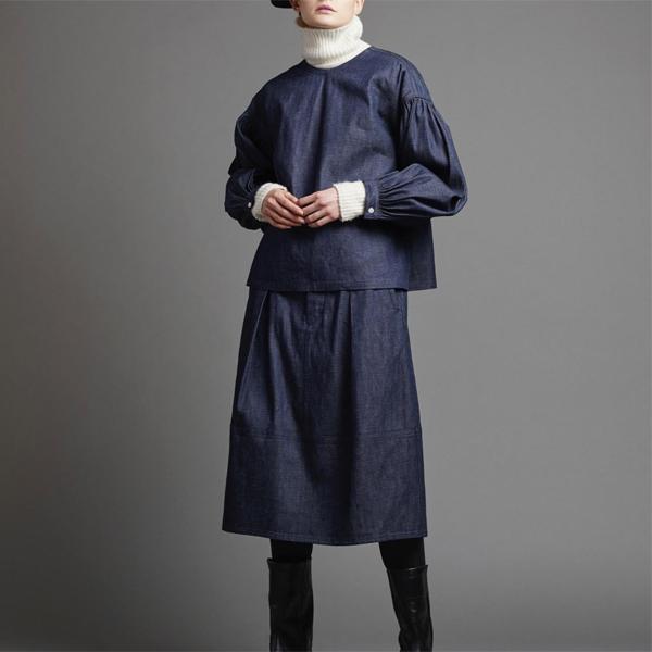 スカートとセットアップの着用イメージ