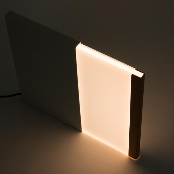 引き出す面積で灯りを調節出来ます