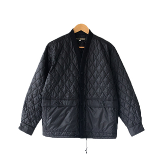 QUILTING JACKET BLACK BLACK