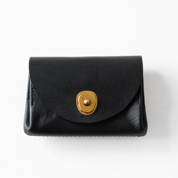 LEATHER VOYAGE POCKET WALLET(NERO)