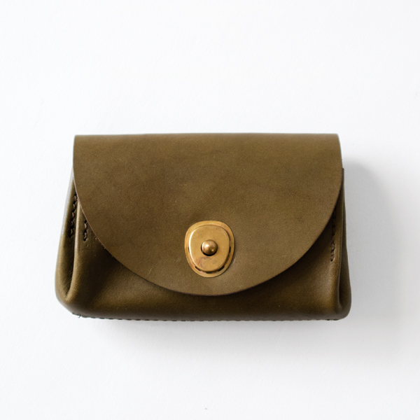 LEATHER VOYAGE POCKET WALLET(VERDE)