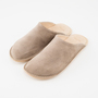 LEATHER ROOM SHOES BEIGE