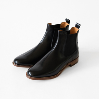 Side Gore Boots Black