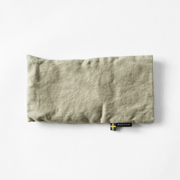 麦の温冷アイピロー ラベンダー ウォッシュドリネン(グリーン)