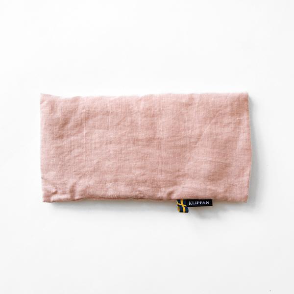 麦の温冷アイピロー ラベンダー ウォッシュドリネン(ピンク)