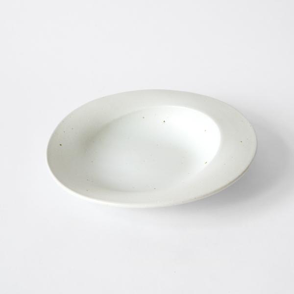 プレート scoop L(WHITE)