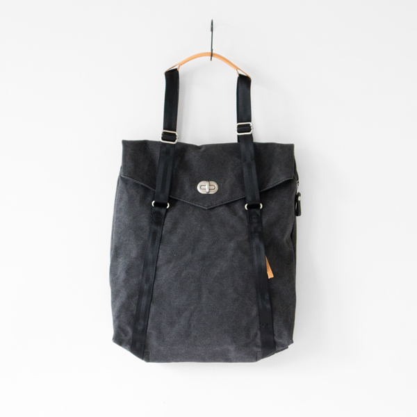 Tote Washed Black